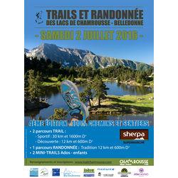 Trails et Randonnée des Lacs de Chamrousse 2016 - Belledonne