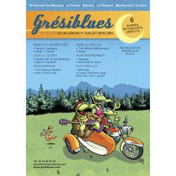 Grésiblues Festival 2016 dans le Grésivaudan