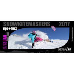 Nouvel événement à l'Alpe d'Huez ! World Snowkite Masters