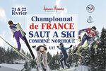 Championnat de France de Combiné nordique à Autrans