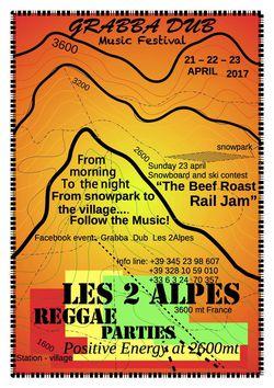 Grabba Dub Music Festival - Musique aux 2 Alpes