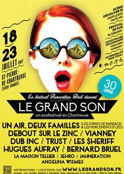 Festival Grand Son, festival de chanson française à la montagne