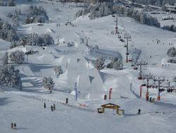 Opening Snowpark à Chamrousse
