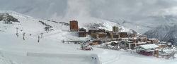 Ouverture du domaine skiable d'Orcières Merlette 1850