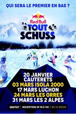 Red Bull Tout Schuss - Soyez le premier en bas
