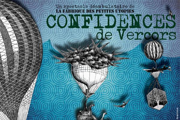 Confidences de Vercors, spectacle déambulatoire