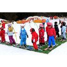"""""""Crocski 3/12 ans"""" : cours de ski en demi-journée + repas"""
