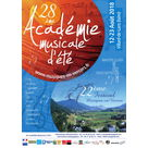 28e Académie Musicale d'été