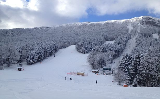 Front de Neige à Métabief