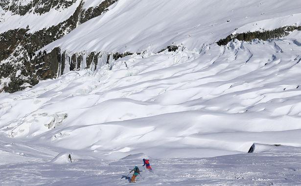 Argentière - ski2