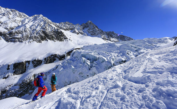 Argentière - ski1