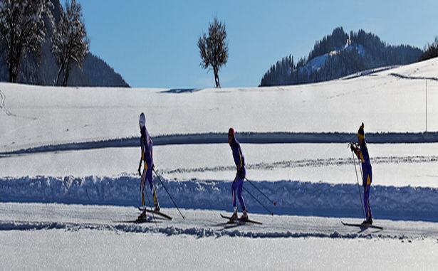 Ski de fond Bellevaux Hirmentaz
