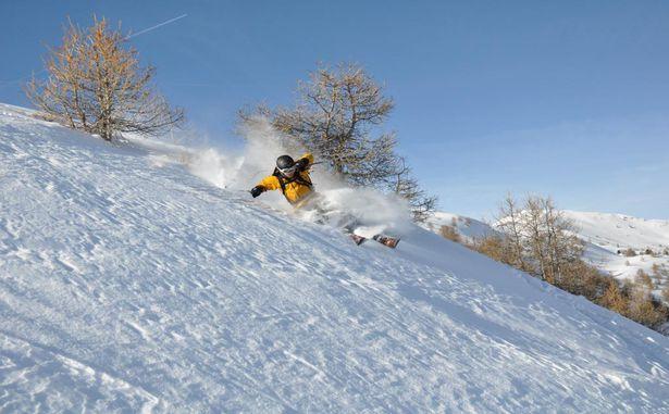 Crévoux - Ski alpin
