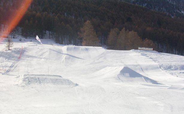 Crévoux - SnowPark