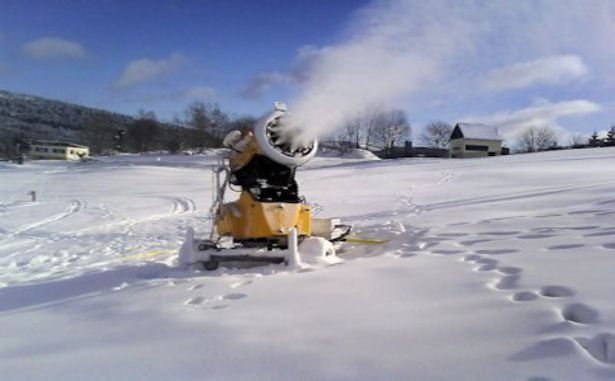 Le Brabant - Canon à neige