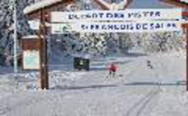 Savoie Gand Revard - Piste nordique