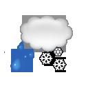 bulletin meteo St-François-Longchamp : Couvert et neige fondue