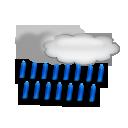 bulletin meteo Les Menuires : Pluie