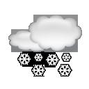 bulletin meteo Le Praz-de-Lys / Sommand : Chutes de neige