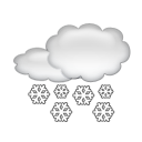 bulletin meteo Aussois : Chutes de neige