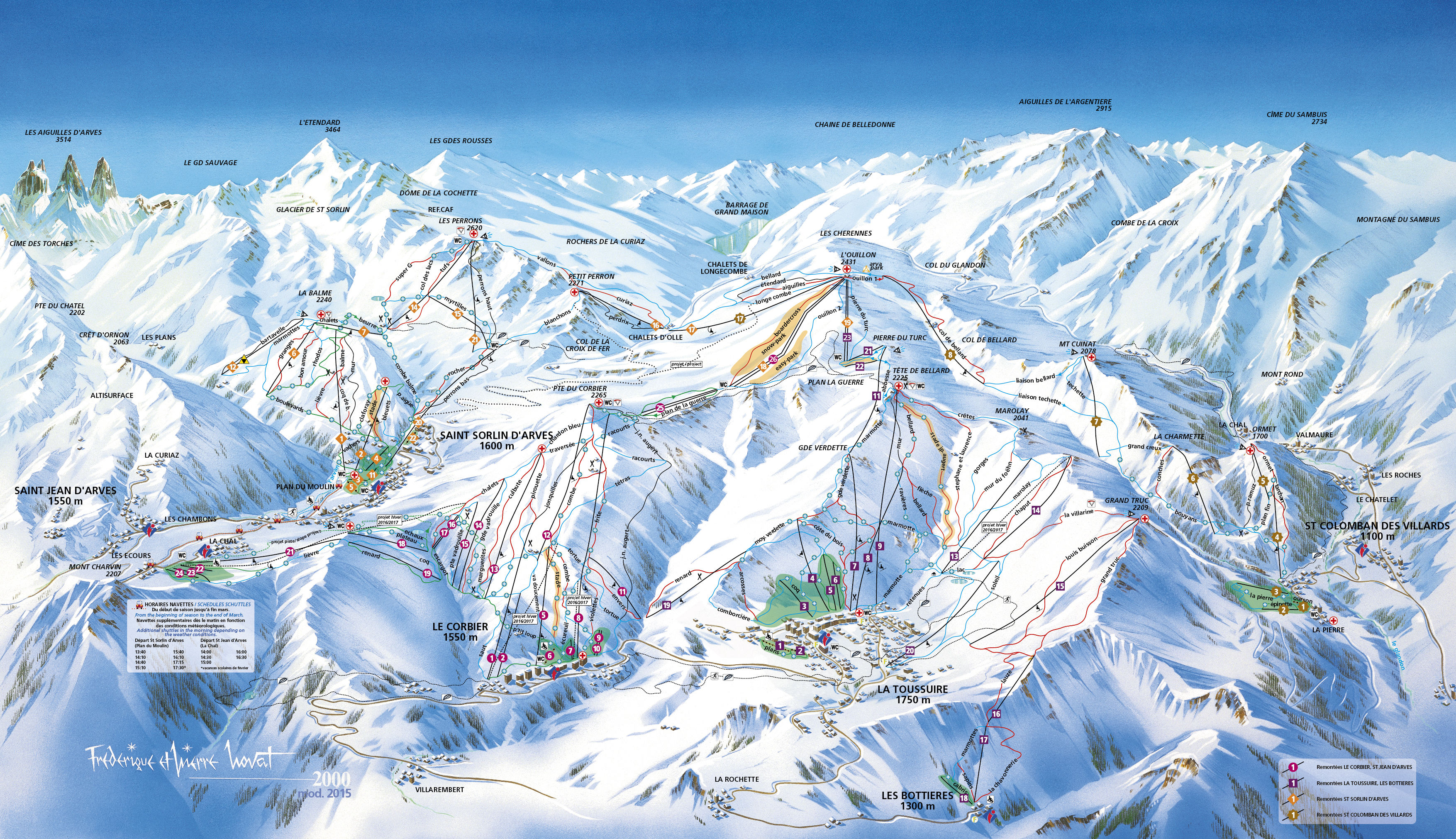 Domaine skiable alpin ski nordique st sorlin d 39 arves - Office du tourisme saint sorlin d arves ...