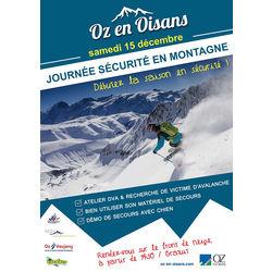 Journée sécurité en montagne à Oz-en-Oisans