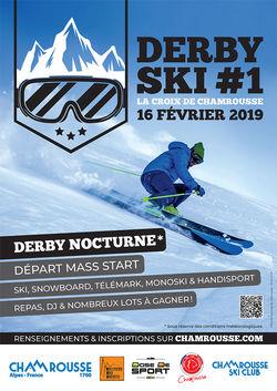 Chamrousse lance son 1er Derby ski