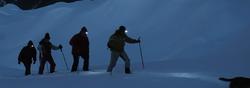 Nouvel itinéraire de multiples pratiques de randonnée nocturne
