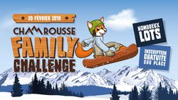 Family Challenge 2019 à Chamrousse