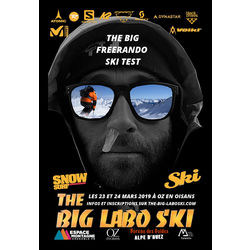 The Big Labo ski 2019 à Oz-en-Oisans