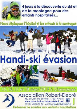 Handi-Ski Évasion 2019 à Chamrousse