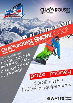 Chamrousse Snowscoot Expérience 2019