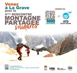 Rencontre de la montagne partagée solidaires 2019 à La Grave