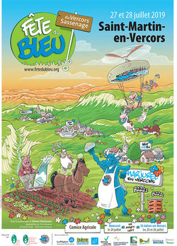 Fête du Bleu 2019 à St-Martin-en-Vercors
