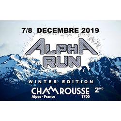 L'Alpha Run, la course la plus givrée de l'hiver à Chamrousse !