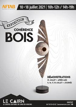 """Expo """"Cohérence Bois"""" au Cairn à Lans-en-Vercors"""