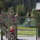 activité de montage Jeux pour enfants : Espace jeux au camping