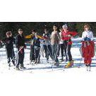 activité de montage Piste de ski de fond : Itinéraire de ski de fond du Mont-Lachat