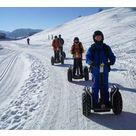 Balade en gyropode sur les pistes enneigées de Sommand - Mobilboard Morzine