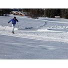 activité de montage Piste de ski de fond : Piste de fond - Cassioz / Praz sur Arly