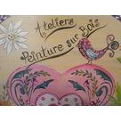 """Initiation Peinture sur Bois """"Nature Art et Détente"""""""