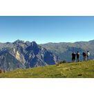 Itinéraire de randonnée : sommet du télésiège Vinouve > retour station