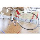 activité de montage Salle de squash : Squash, badminton, ping-pong - Le Signal