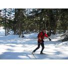 activité de montage Piste de ski de fond : Itinéraire de ski de fond