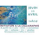 Atelier d'initiation à la calligraphie