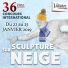 36e concours International de Sculpture sur Neige Valloire