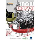 Compétition de Snow Dragon Boat Le Grand-Bornand