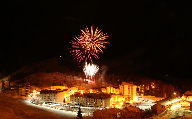 Feu d'artifice - Copyright OT Valberg