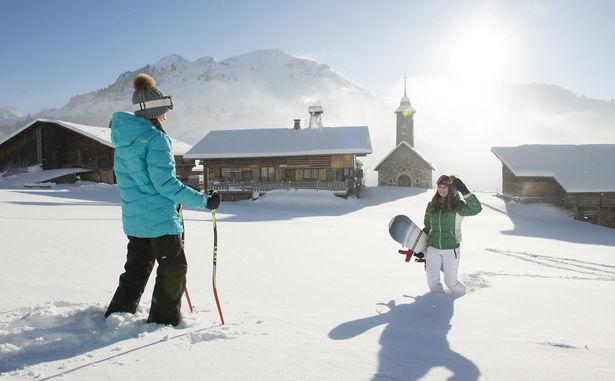 Ski-chalets�P.-Lebeau-Aravis