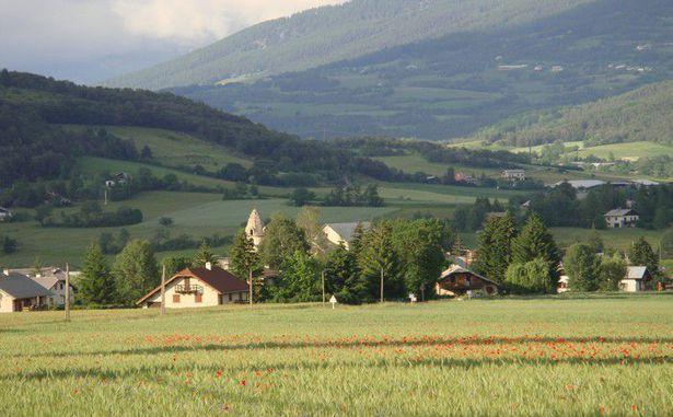 STATANMSM2V500Q59 - Vue sur le village de Selonnet